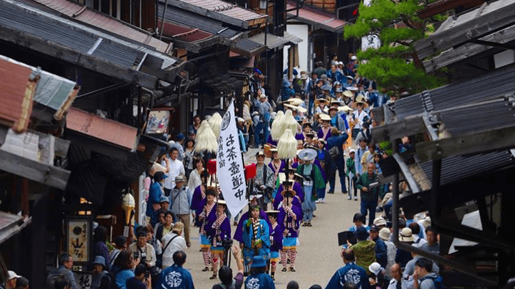奈良井宿場祭