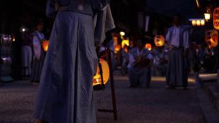 奈良井宿 夏祭り