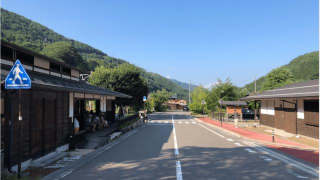 奈良井宿 駐車場