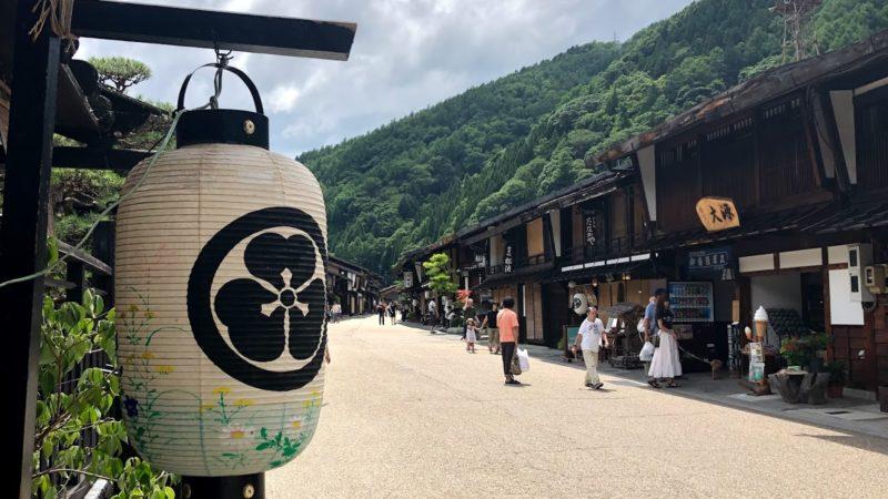奈良井宿 お盆