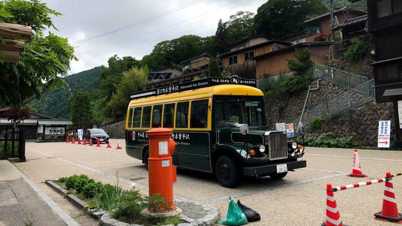 奈良井宿 バス